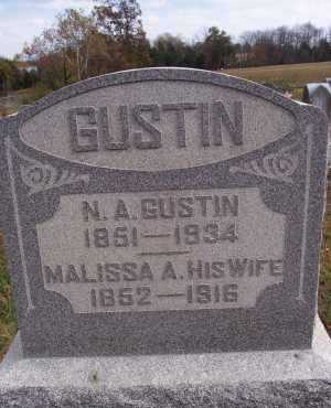 GUSTIN, NICHOLAS - Adams County, Ohio | NICHOLAS GUSTIN - Ohio Gravestone Photos