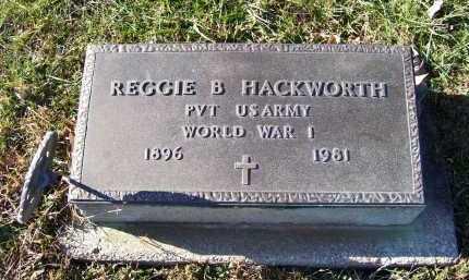 HACKWORTH, REGGIE B. - Adams County, Ohio | REGGIE B. HACKWORTH - Ohio Gravestone Photos