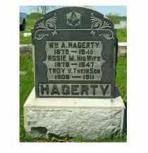 HAGERTY, ROSIE M. - Adams County, Ohio   ROSIE M. HAGERTY - Ohio Gravestone Photos