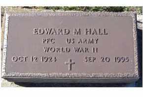 HALL, EDWARD M. - Adams County, Ohio | EDWARD M. HALL - Ohio Gravestone Photos