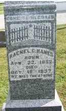 HANES, RACHEL C. - Adams County, Ohio | RACHEL C. HANES - Ohio Gravestone Photos