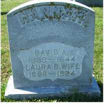 HANNAH, DAVID A. - Adams County, Ohio | DAVID A. HANNAH - Ohio Gravestone Photos