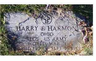 HARMON, HARRY E. - Adams County, Ohio | HARRY E. HARMON - Ohio Gravestone Photos