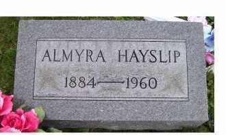 HAYSLIP, ALMYRA - Adams County, Ohio   ALMYRA HAYSLIP - Ohio Gravestone Photos