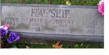 HAYSLIP, MARY - Adams County, Ohio | MARY HAYSLIP - Ohio Gravestone Photos
