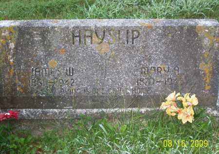 HAYSLIP, JAMES W - Adams County, Ohio   JAMES W HAYSLIP - Ohio Gravestone Photos