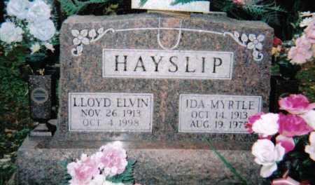 HAYSLIP, IDA MYRTLE - Adams County, Ohio | IDA MYRTLE HAYSLIP - Ohio Gravestone Photos