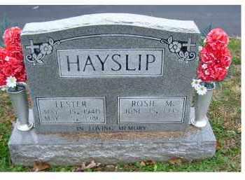 HAYSLIP, ROSIE M. - Adams County, Ohio | ROSIE M. HAYSLIP - Ohio Gravestone Photos