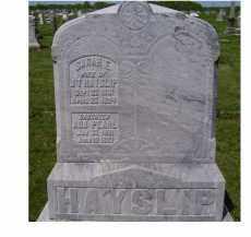HAYSLIP, SARAH E. - Adams County, Ohio | SARAH E. HAYSLIP - Ohio Gravestone Photos