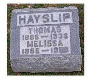 HAYSLIP, THOMAS - Adams County, Ohio   THOMAS HAYSLIP - Ohio Gravestone Photos