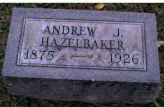 HAZELBAKER, ANDREW J. - Adams County, Ohio | ANDREW J. HAZELBAKER - Ohio Gravestone Photos