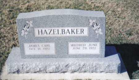 HAZELBAKER, JAMES CARL - Adams County, Ohio | JAMES CARL HAZELBAKER - Ohio Gravestone Photos