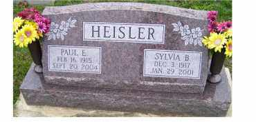 HEISLER, SYLVIA B. - Adams County, Ohio | SYLVIA B. HEISLER - Ohio Gravestone Photos