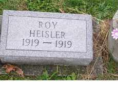 HEISLER, ROY - Adams County, Ohio | ROY HEISLER - Ohio Gravestone Photos