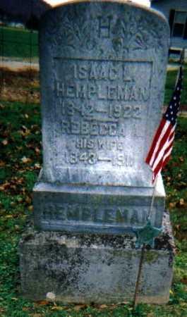 HEMPLEMAN, REBECCA A. - Adams County, Ohio | REBECCA A. HEMPLEMAN - Ohio Gravestone Photos
