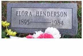HENDERSON, FLORA - Adams County, Ohio   FLORA HENDERSON - Ohio Gravestone Photos