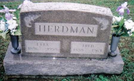 HERDMAN, ELLA - Adams County, Ohio | ELLA HERDMAN - Ohio Gravestone Photos