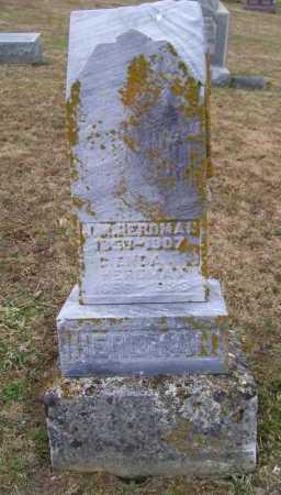 HERDMAN, J. M. - Adams County, Ohio   J. M. HERDMAN - Ohio Gravestone Photos