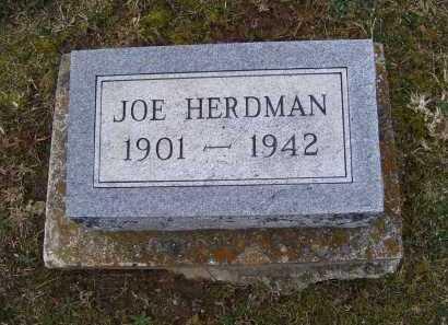 HERDMAN, JOE - Adams County, Ohio   JOE HERDMAN - Ohio Gravestone Photos