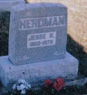 HERDMAN, JESSE R. - Adams County, Ohio   JESSE R. HERDMAN - Ohio Gravestone Photos