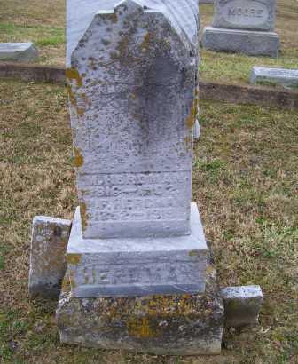 HERDMAN, M.H. - Adams County, Ohio | M.H. HERDMAN - Ohio Gravestone Photos