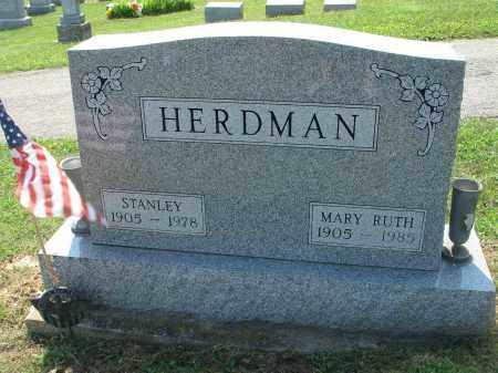 HERDMAN, MARY RUTH - Adams County, Ohio | MARY RUTH HERDMAN - Ohio Gravestone Photos