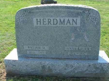 HELTERBRAND HERDMAN, ANNA LAURA - Adams County, Ohio   ANNA LAURA HELTERBRAND HERDMAN - Ohio Gravestone Photos