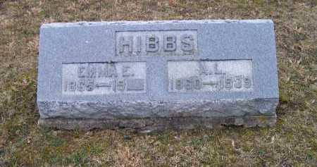 HIBBS, EMMA E. - Adams County, Ohio | EMMA E. HIBBS - Ohio Gravestone Photos