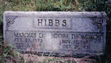 HIBBS, MARQUIS D. - Adams County, Ohio | MARQUIS D. HIBBS - Ohio Gravestone Photos