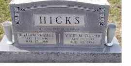 COOPER HICKS, VICIE M. - Adams County, Ohio | VICIE M. COOPER HICKS - Ohio Gravestone Photos