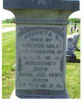 HILL, AUGUSTA E. - Adams County, Ohio   AUGUSTA E. HILL - Ohio Gravestone Photos