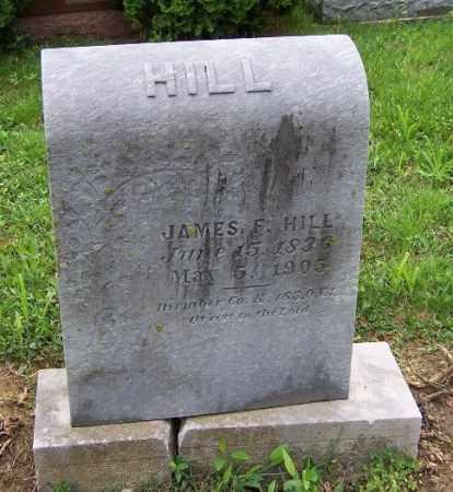 HILL, JAMES F. - Adams County, Ohio | JAMES F. HILL - Ohio Gravestone Photos