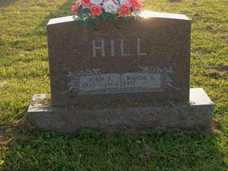 HILL, JOHN F - Adams County, Ohio | JOHN F HILL - Ohio Gravestone Photos