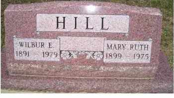 HILL, WILBUR E. - Adams County, Ohio | WILBUR E. HILL - Ohio Gravestone Photos