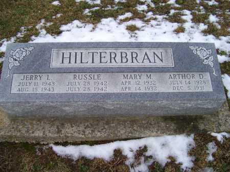 HILTERBRAN, MARY M. - Adams County, Ohio | MARY M. HILTERBRAN - Ohio Gravestone Photos