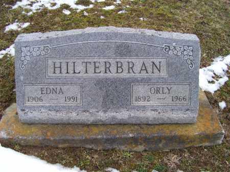 HILTERBRAN, ORLY - Adams County, Ohio | ORLY HILTERBRAN - Ohio Gravestone Photos