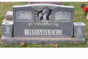 HOADLEY, FRANK H. - Adams County, Ohio | FRANK H. HOADLEY - Ohio Gravestone Photos