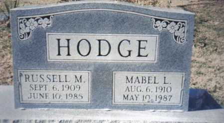 HODGE, RUSSELL M. - Adams County, Ohio | RUSSELL M. HODGE - Ohio Gravestone Photos