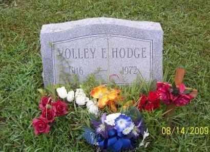 HODGE, VOLLEY F - Adams County, Ohio   VOLLEY F HODGE - Ohio Gravestone Photos
