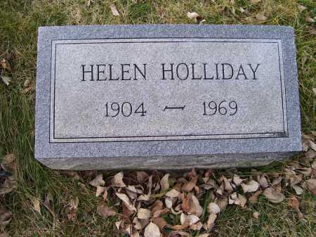 HOLLIDAY, HELEN - Adams County, Ohio   HELEN HOLLIDAY - Ohio Gravestone Photos