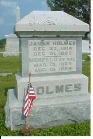 MCGOVNEY HOLMES, MORELLO - Adams County, Ohio | MORELLO MCGOVNEY HOLMES - Ohio Gravestone Photos