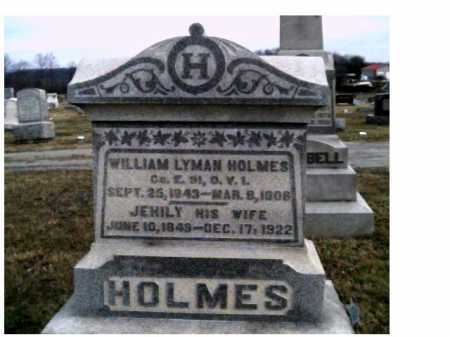 HOLMES, WILLIAM LYMAN - Adams County, Ohio | WILLIAM LYMAN HOLMES - Ohio Gravestone Photos