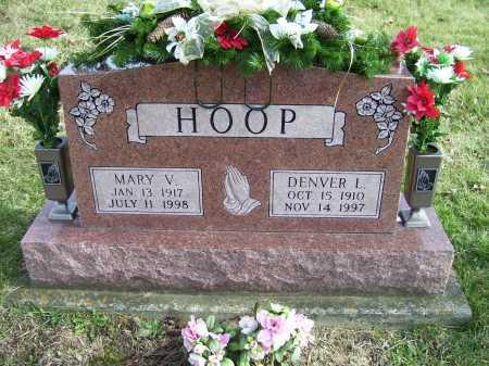 HOOP, MARY V. - Adams County, Ohio | MARY V. HOOP - Ohio Gravestone Photos