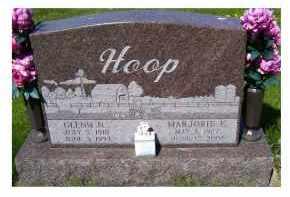 HOOP, GLENN N. - Adams County, Ohio | GLENN N. HOOP - Ohio Gravestone Photos