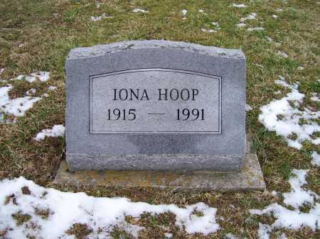 HOOP, IONA - Adams County, Ohio   IONA HOOP - Ohio Gravestone Photos