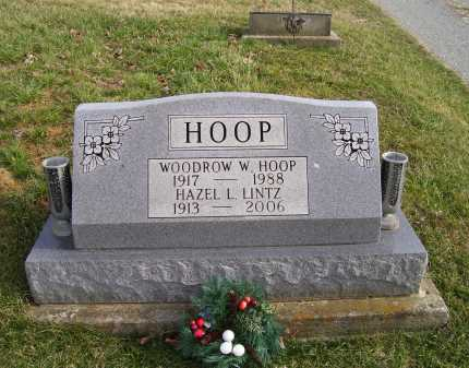LINTZ HOOP, HAZEL L. - Adams County, Ohio | HAZEL L. LINTZ HOOP - Ohio Gravestone Photos