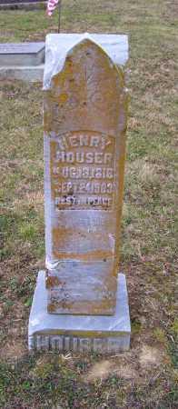 HOUSER, HENRY - Adams County, Ohio | HENRY HOUSER - Ohio Gravestone Photos