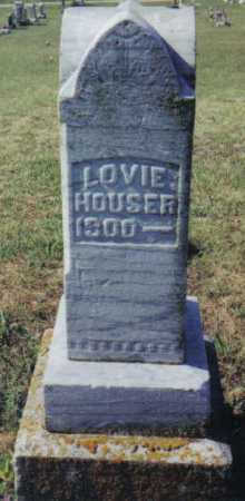 HOUSER, LOVIE - Adams County, Ohio | LOVIE HOUSER - Ohio Gravestone Photos