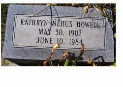 HOWELL, KATHRYN - Adams County, Ohio | KATHRYN HOWELL - Ohio Gravestone Photos