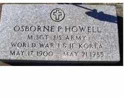 HOWELL, OSBORNE P. - Adams County, Ohio   OSBORNE P. HOWELL - Ohio Gravestone Photos